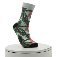 Palm Tree Pattern Digital Printed Socks